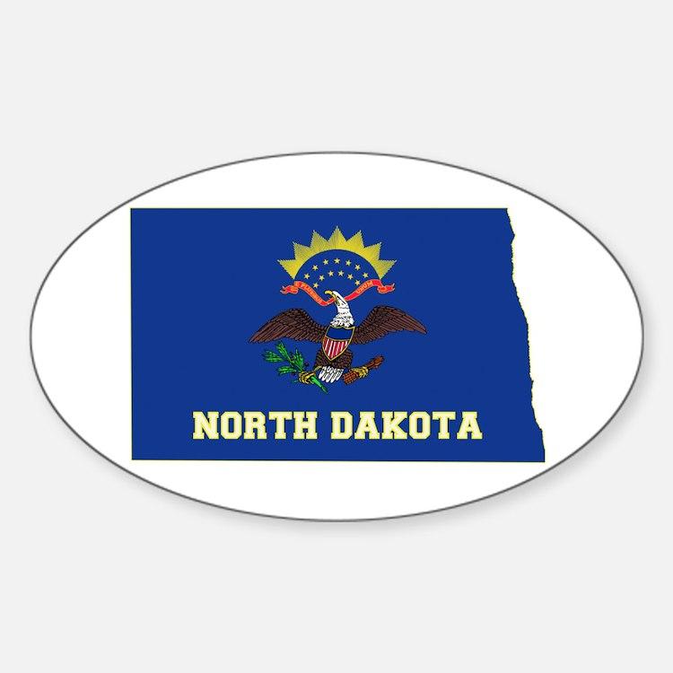 North Dakota Flag Decal