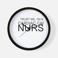 Trust Me, Im A Cardiac Care Nurse Wall Clock