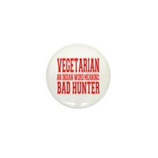 Bad Hunter Mini Button (10 pack)