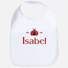 Red LadyBug - Isabel Bib