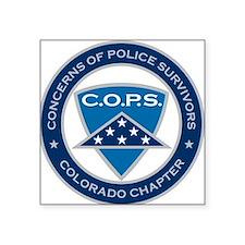 C.O.P.S. Logo Sticker