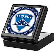 C.O.P.S. Logo Keepsake Box
