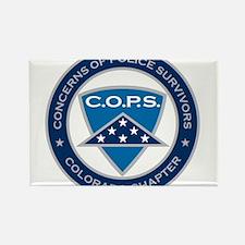 C.O.P.S. Logo Rectangle Magnet