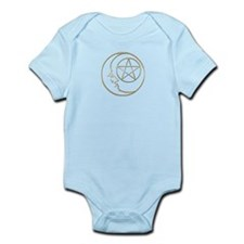 Moon And Pentacle Infant Bodysuit
