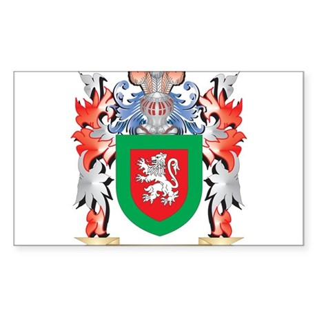 Yoxall Coat of Arms - Family Crest Sticker