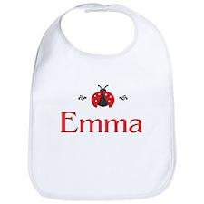 Red LadyBug - Emma Bib