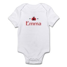 Red LadyBug - Emma Infant Bodysuit