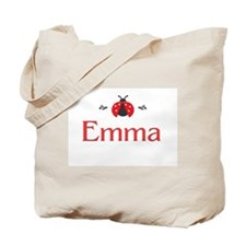 Red LadyBug - Emma Tote Bag