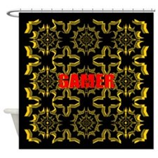 Gamer Shower Curtain