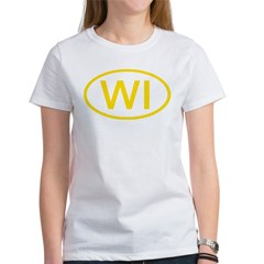 WI Oval - Wisconsin Tee