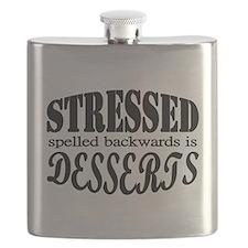Stressed spelled backwards is Desserts Flask