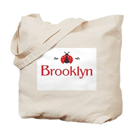 Red LadyBug - Brooklyn Tote Bag