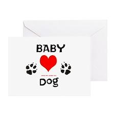 Paw Prints Dog Adoption3 Greeting Card