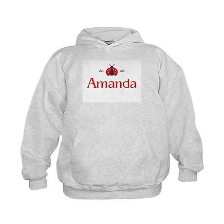 Red LadyBug - Amanda Kids Hoodie