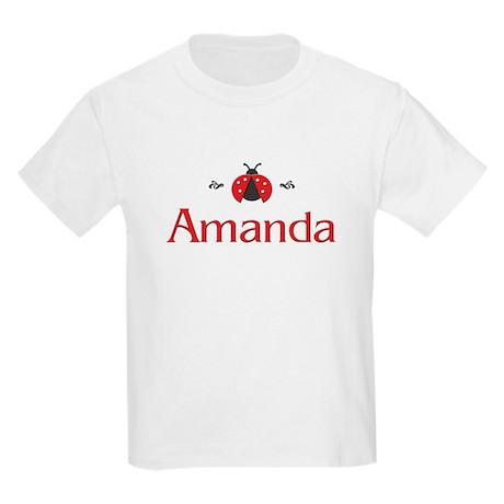 Red LadyBug - Amanda Kids T-Shirt