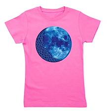 Celtic Blue Moon Girl's Tee