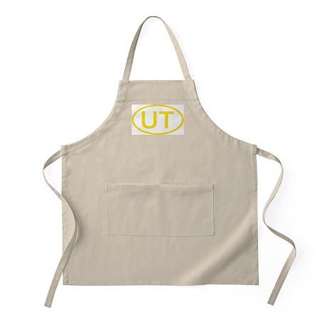 UT Oval - Utah BBQ Apron