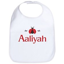 Red LadyBug - Aaliyah Bib