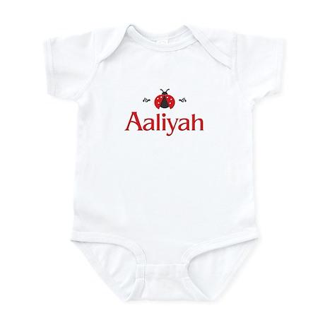 Red LadyBug - Aaliyah Infant Bodysuit