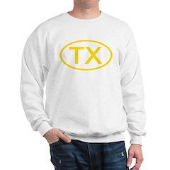 TX Oval - Texas Sweatshirt