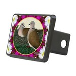 Dove Nest and Flowers Hitch Cover