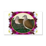 Dove Nest and Flowers Car Magnet 20 x 12