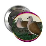 """Dove Nest and Flowers 2.25"""" Button (100 pack)"""