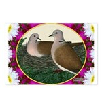 Dove Nest and Flowers Postcards (Package of 8)