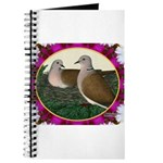 Dove Nest and Flowers Journal