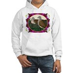 Dove Nest and Flowers Hoodie