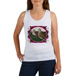 Dove Nest and Flowers Tank Top