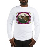Dove Nest and Flowers Long Sleeve T-Shirt