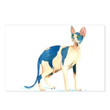 Sphynx Cat Postcards (Package of 8)