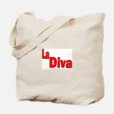 """""""La Diva"""" Tote Bag"""