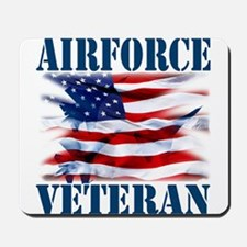 Airforce Veteran copy Mousepad
