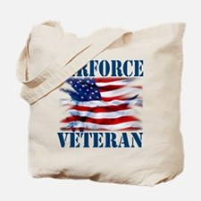 Airforce Veteran copy Tote Bag