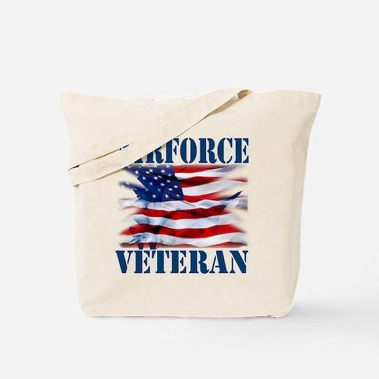 Airforce Veteran copy Tote Bag