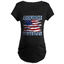 Airforce Veteran copy Maternity T-Shirt