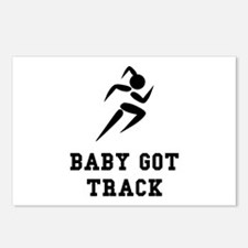Baby Got Track Postcards (Package of 8)
