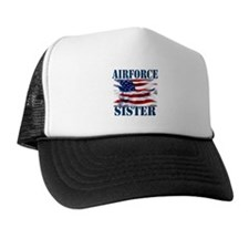 Airforce Sister Trucker Hat