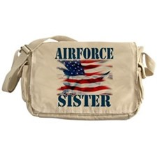 Airforce Sister Messenger Bag