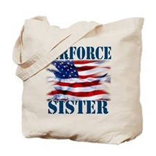 Airforce Sister Tote Bag