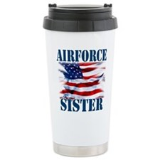 Airforce Sister Travel Mug