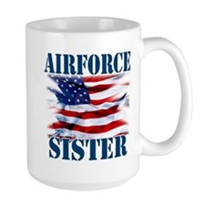 Airforce Sister Mug