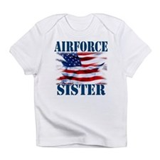 Airforce Sister Infant T-Shirt