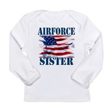 Airforce Sister Long Sleeve T-Shirt