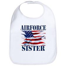 Airforce Sister Bib