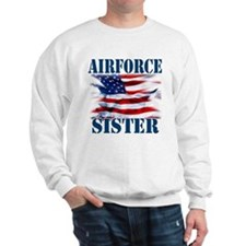 Airforce Sister Sweatshirt