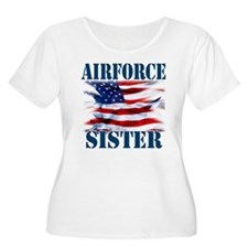 Airforce Sister Plus Size T-Shirt
