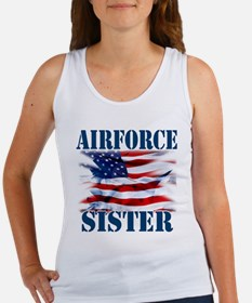 Airforce Sister Tank Top